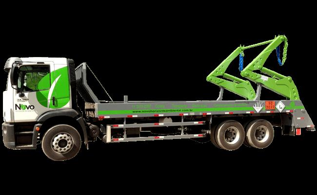 Caminhão poliguindaste duplo e triplo
