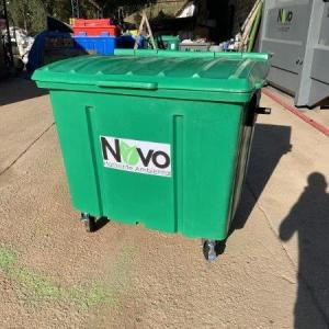 Coleta de papelão para reciclagem